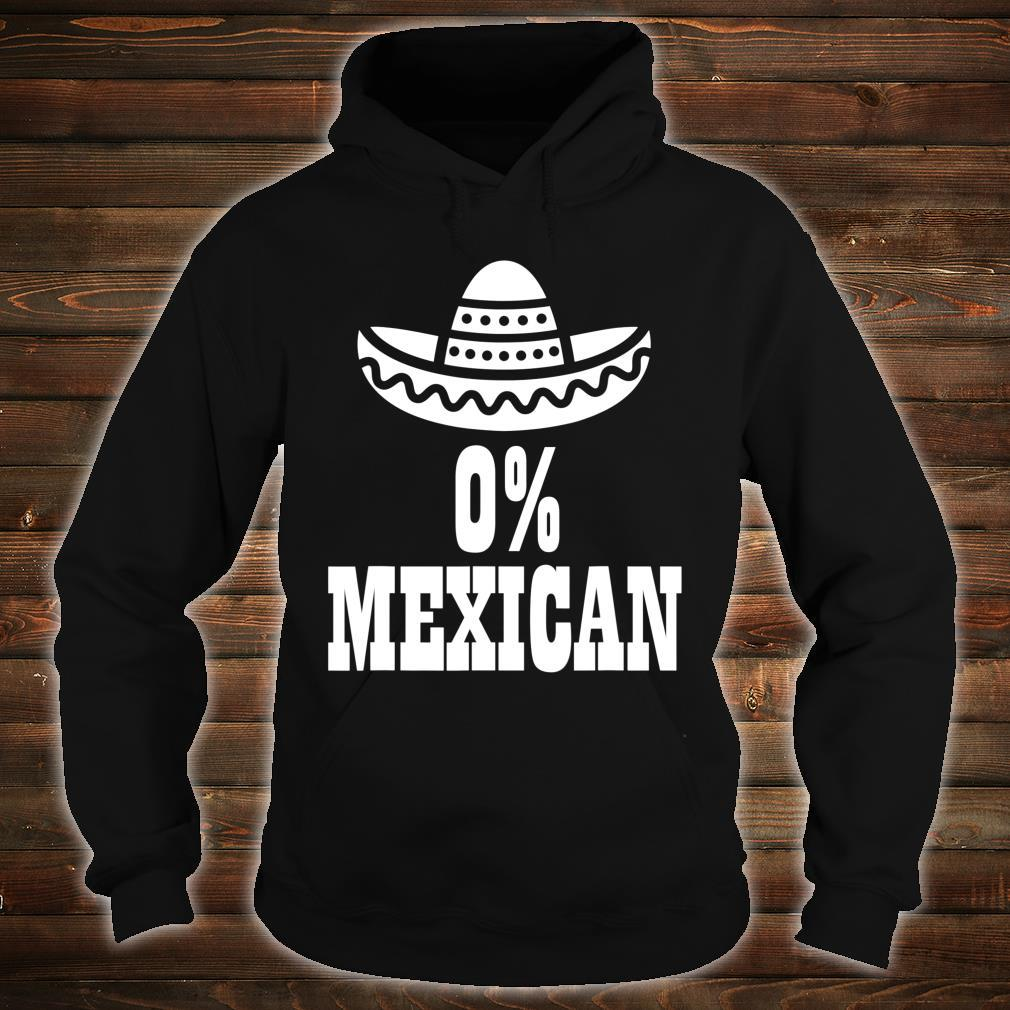 0% Mexican Cinco de Mayo Clothing Cinco de Drinko Shirt hoodie