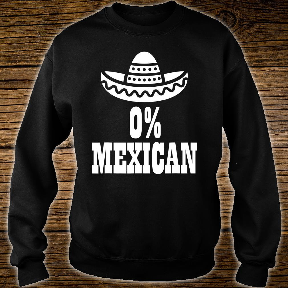 0% Mexican Cinco de Mayo Clothing Cinco de Drinko Shirt sweater