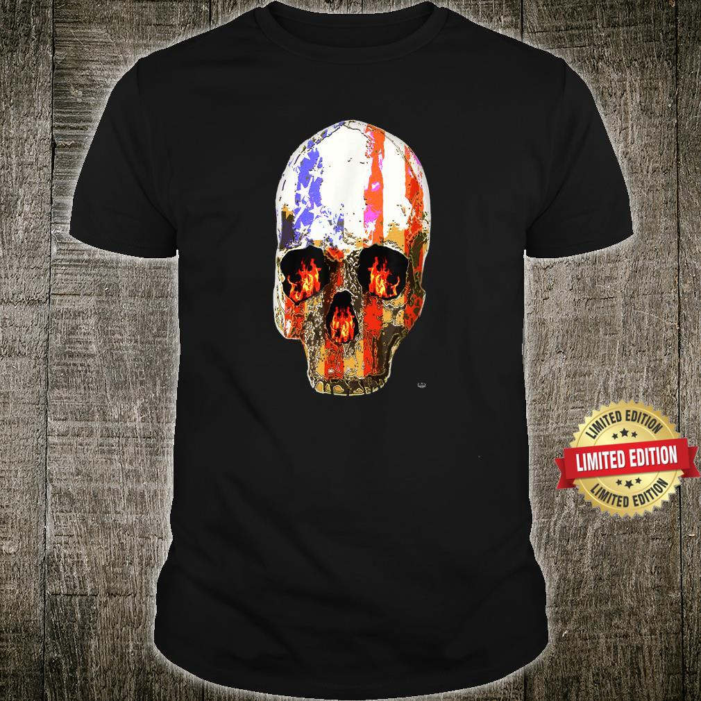 American Freedom Fighter Fire USA Patriot Yahmean Brand Shirt