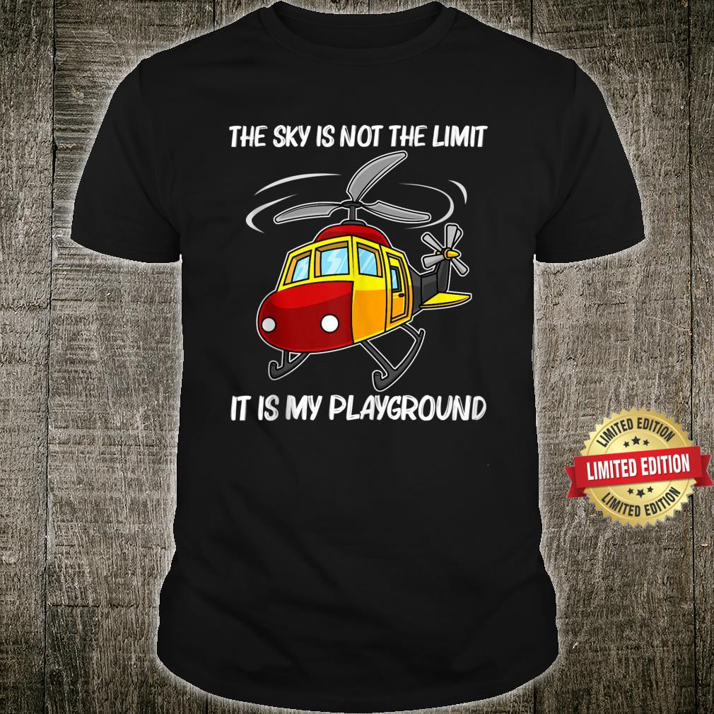 Helicopter Chopper Helicopter Pilot Shirt