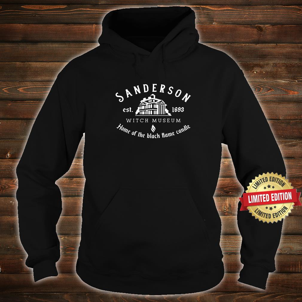 Sanderson Witch Museum, Funny Halloween Shirt hoodie