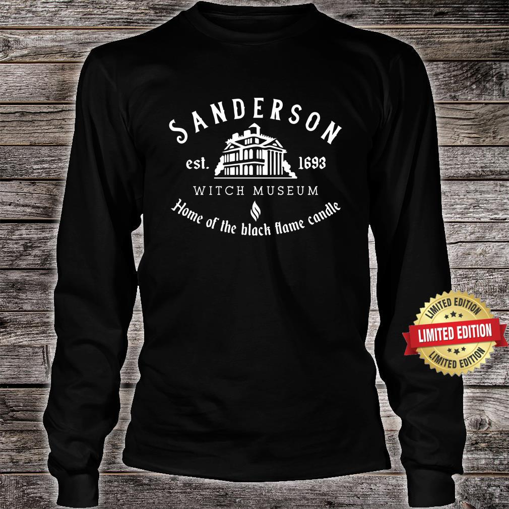 Sanderson Witch Museum, Funny Halloween Shirt long sleeved