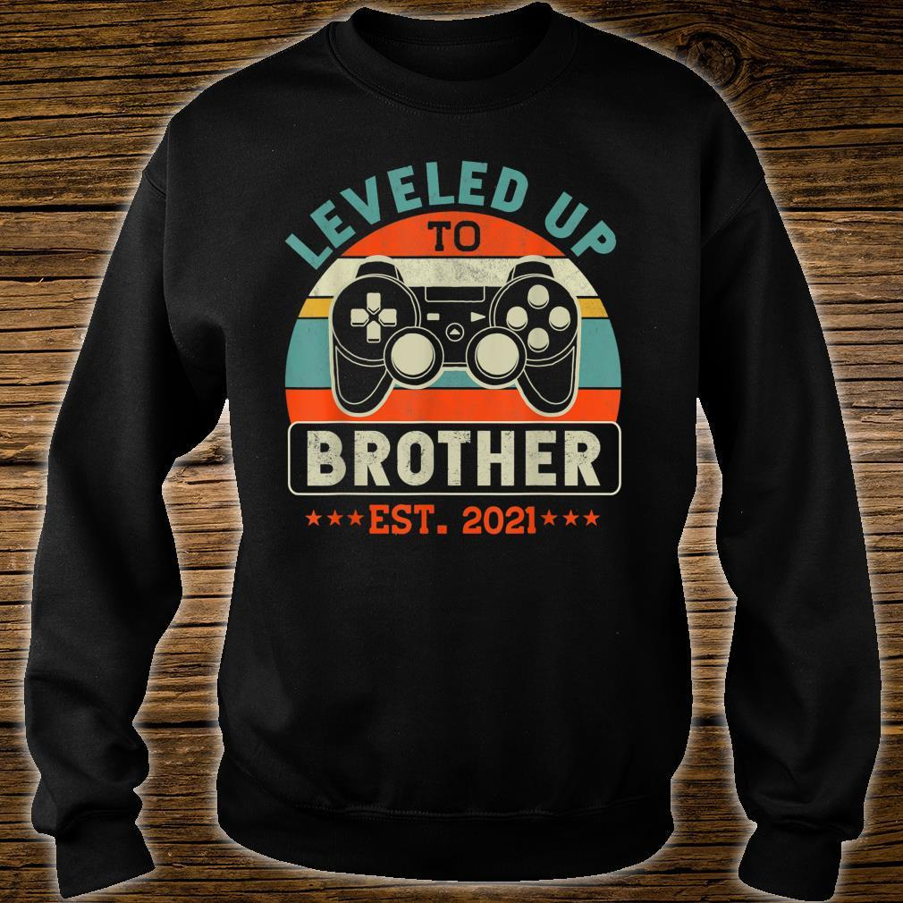 Video Gamer Decoration Leveled Up To Brother Shirt sweater