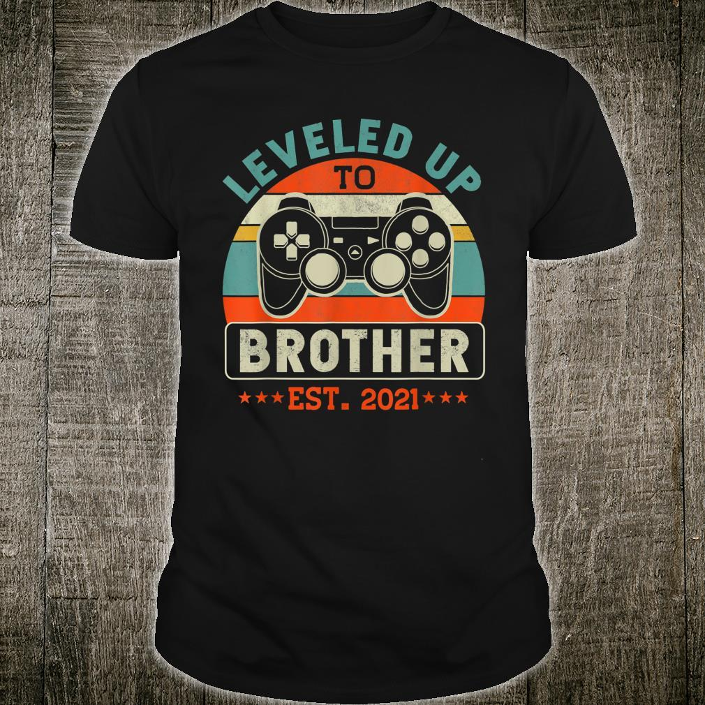 Video Gamer Decoration Leveled Up To Brother Shirt