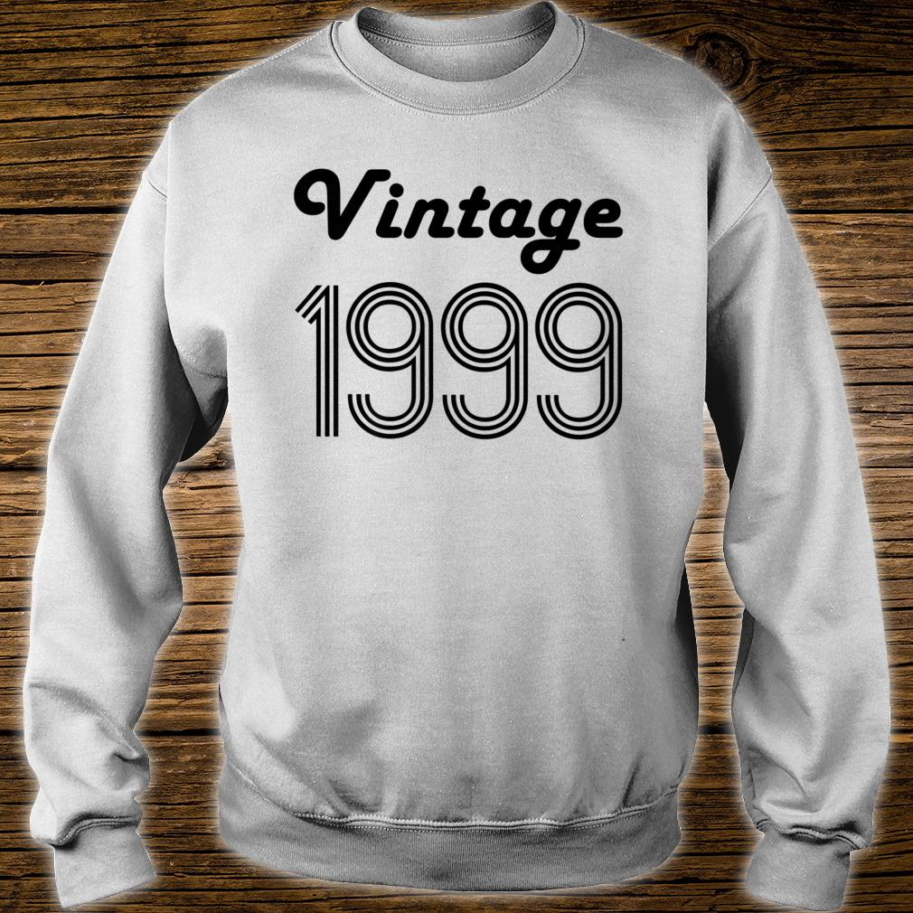 21st Birthday 21 Year Old Vintage 1999 Daughter Shirt sweater