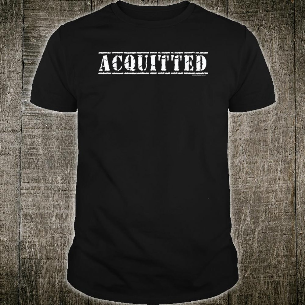 ACQUITTED Pro Trump 2020 Shirt