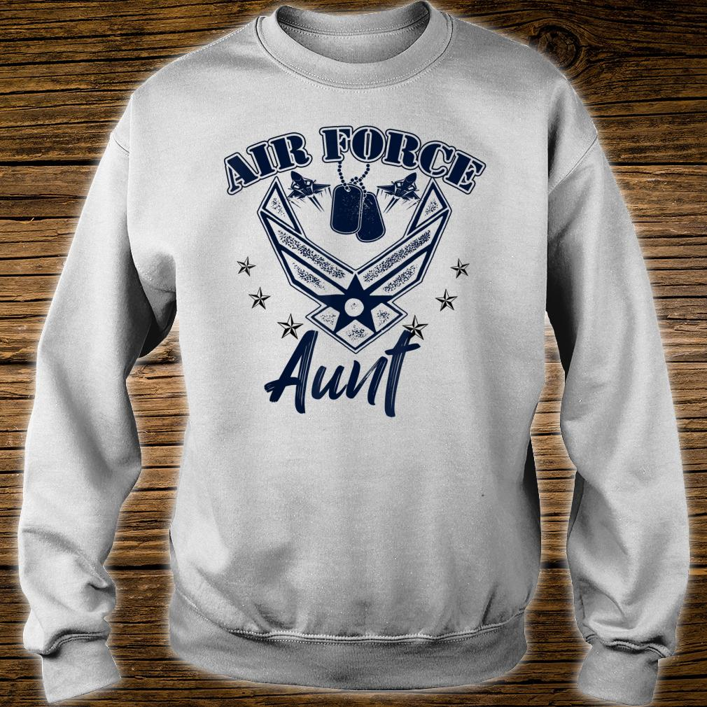 Air Force Aunt Shirt sweater
