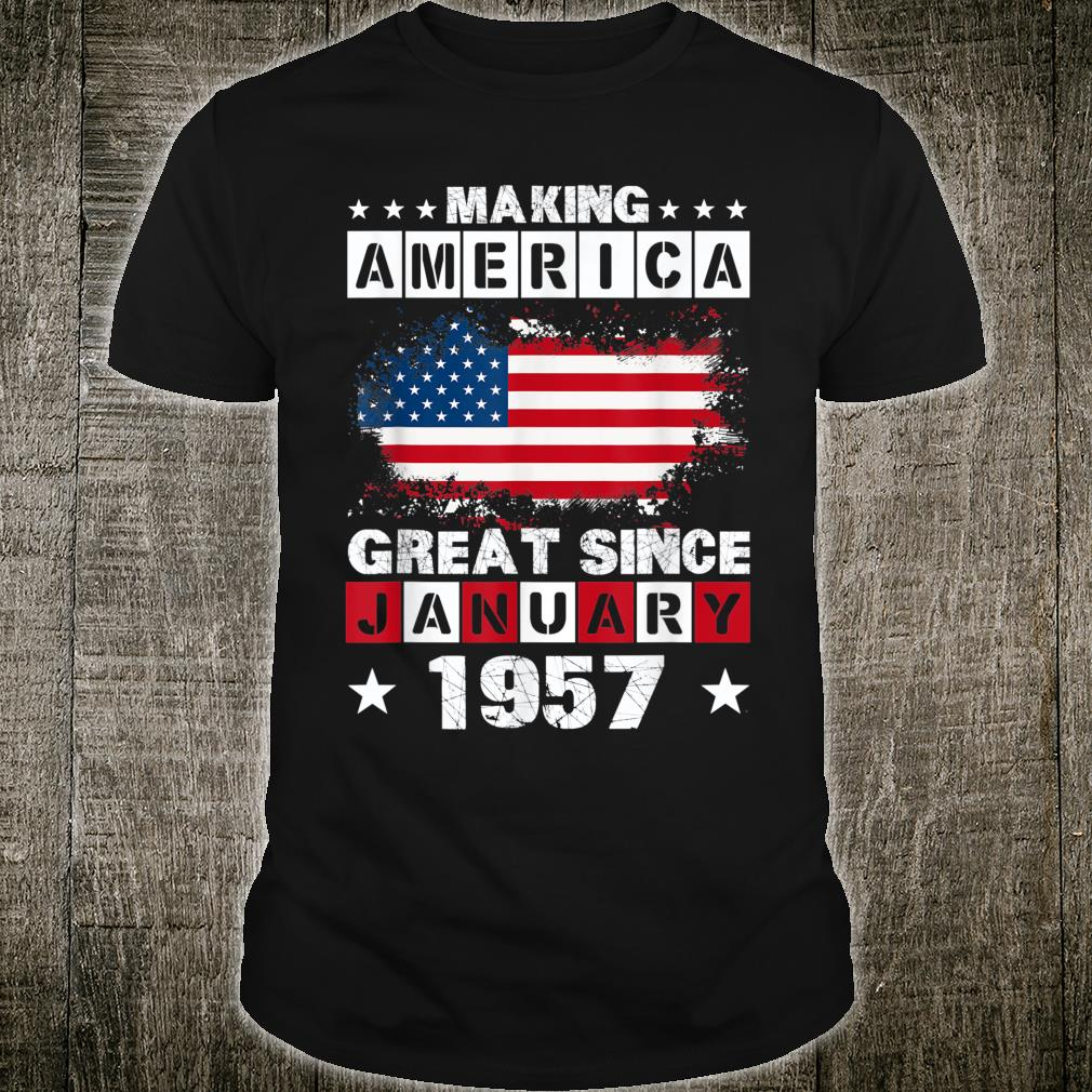 American January 1957 63 Years Old Shirt