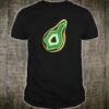 Avocado Crystal Geode Green and Gold Shirt