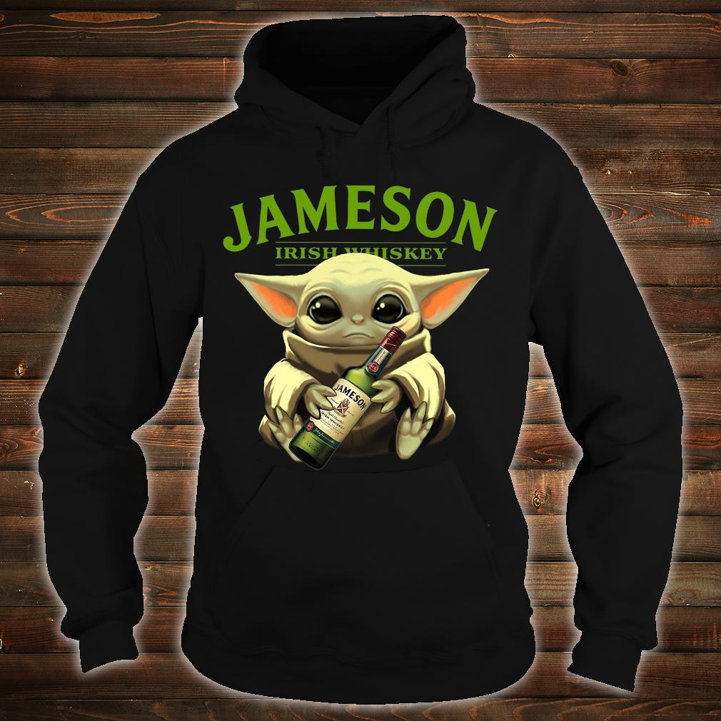 Baby Yoda Jameson Irish whiskey shirt hoodie