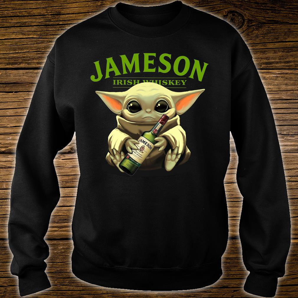 Baby Yoda Jameson Irish whiskey shirt sweater