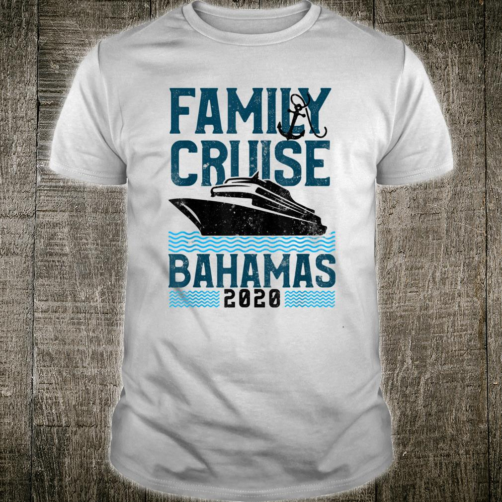 Bahamas Family Vacation Cruise 2019 Travel Gift T-Shirt