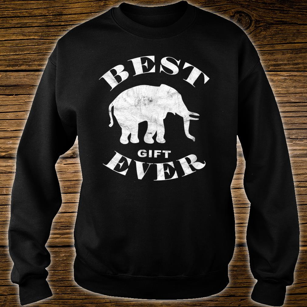 Best Literal White Elephant Ever Shirt sweater