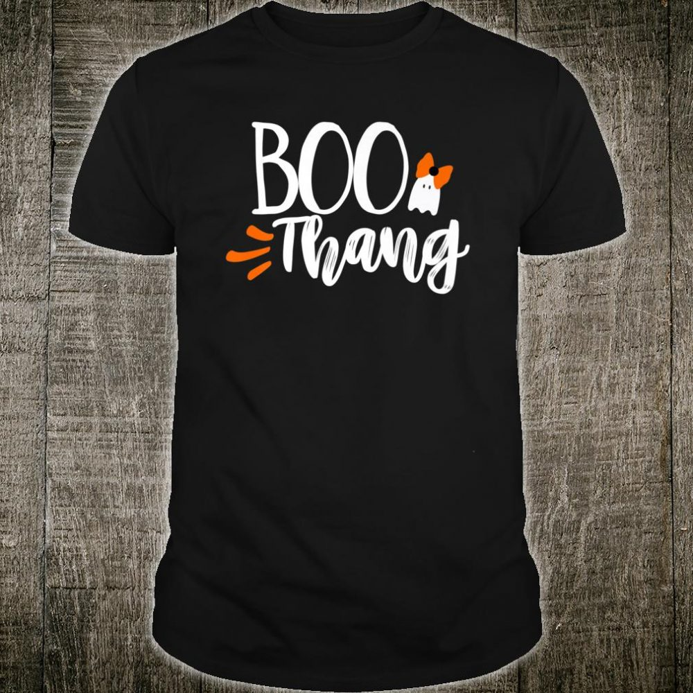 Boo Thang Thing Cute Halloween Ghost Shirt