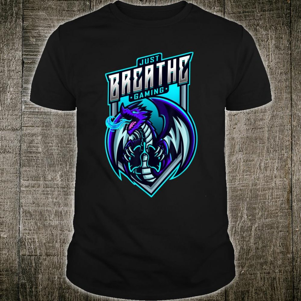 Breathing Dragon Gaming Shirt