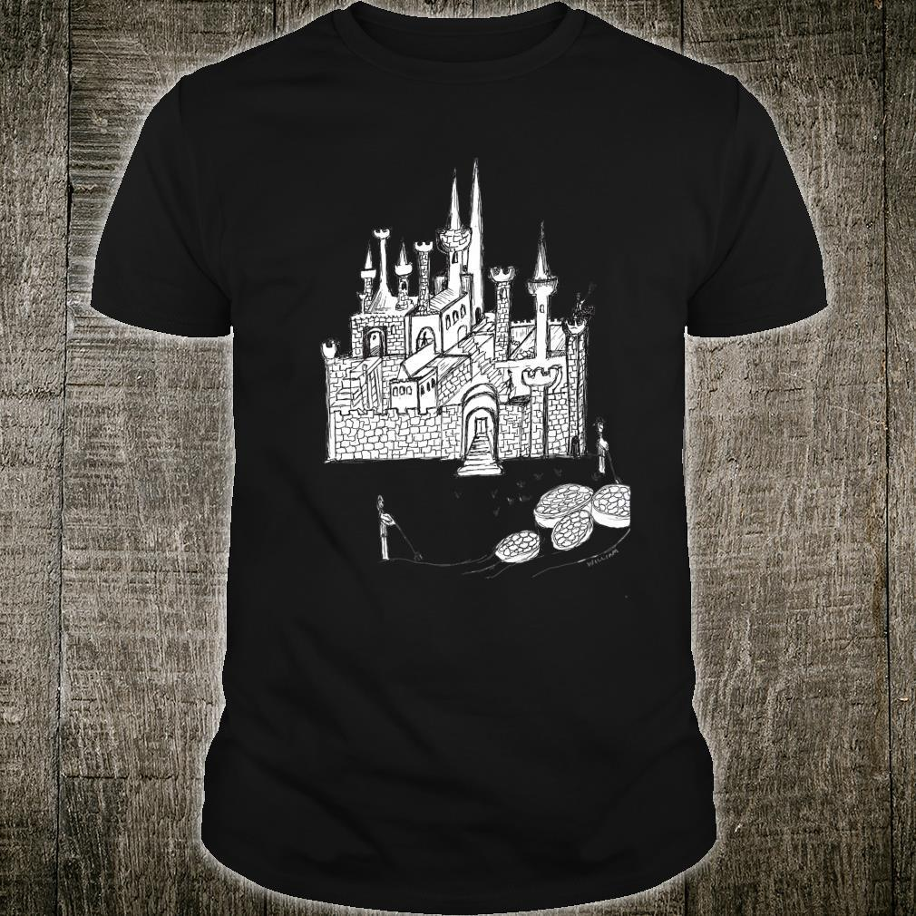 Castle and Work Shirt