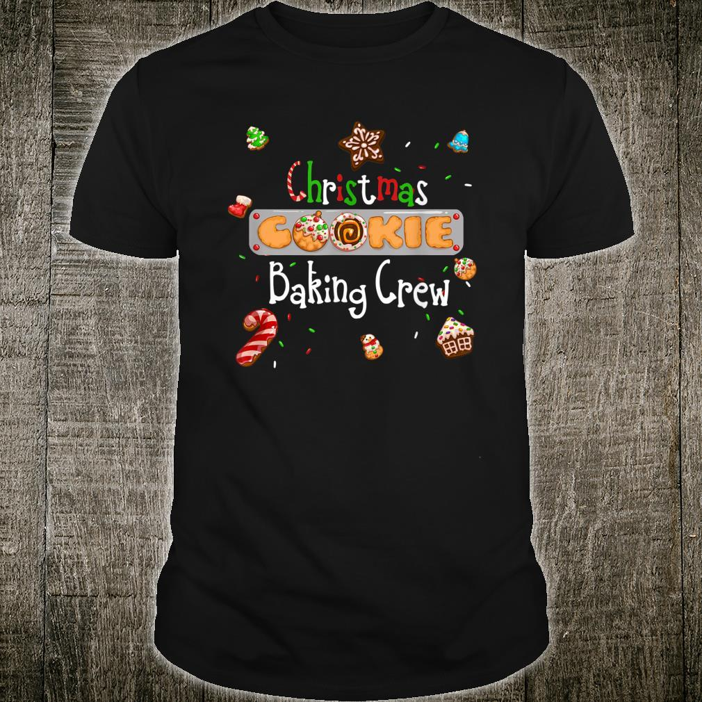 Christmas Cookie Baking Crew Shirt