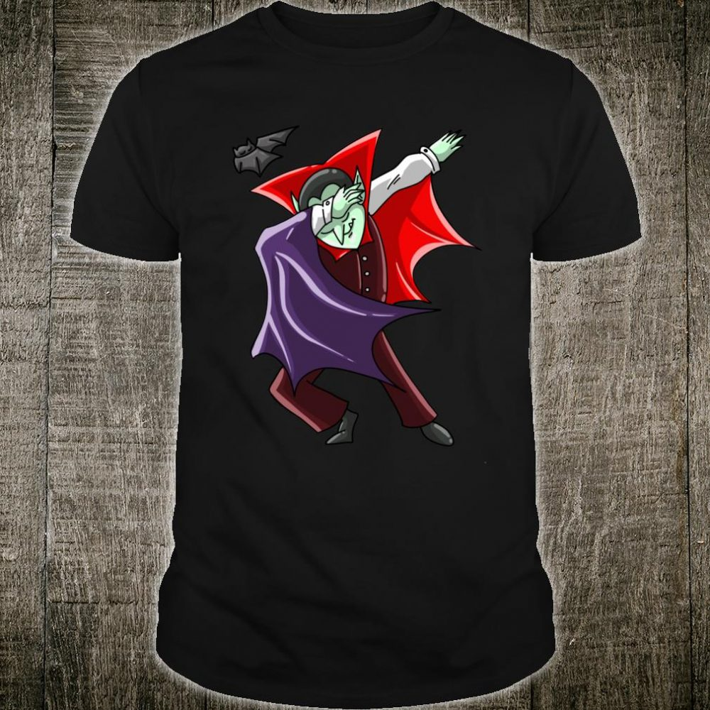 Cool Dabbing Vampire Vamp Dab Halloween Dancer Shirt