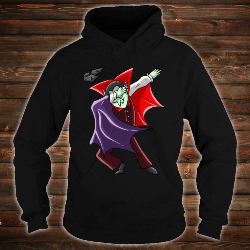 Cool Dabbing Vampire Vamp Dab Halloween Dancer Shirt hoodie