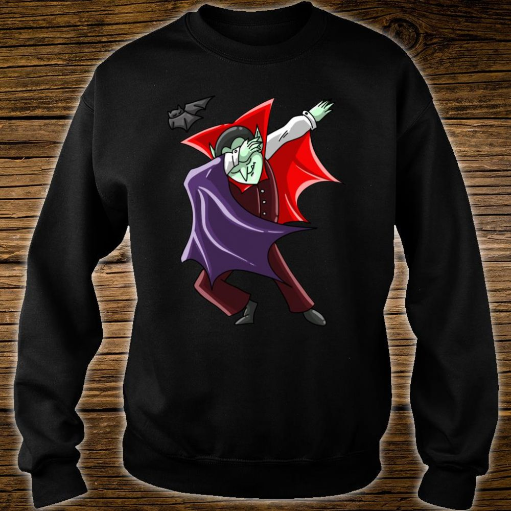 Cool Dabbing Vampire Vamp Dab Halloween Dancer Shirt sweater