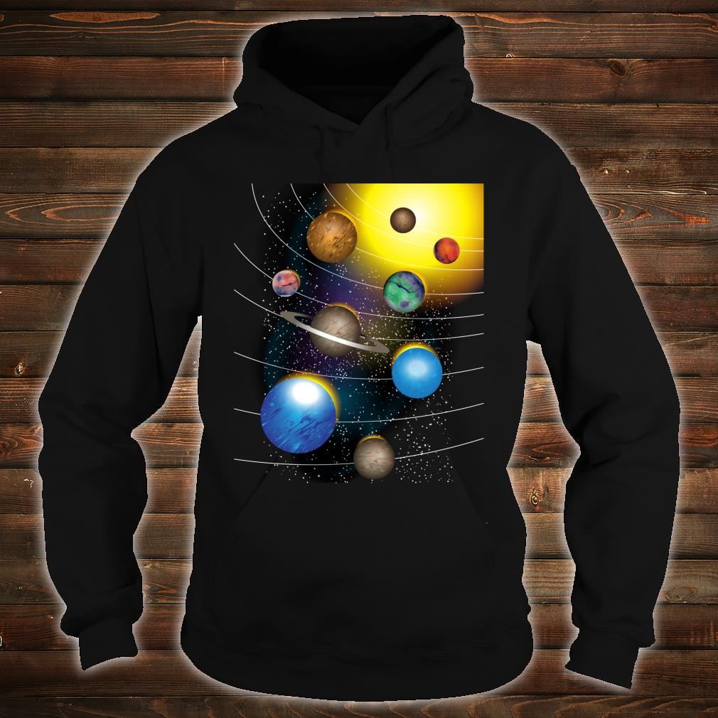 Cool Stars And Solar System Shirt hoodie