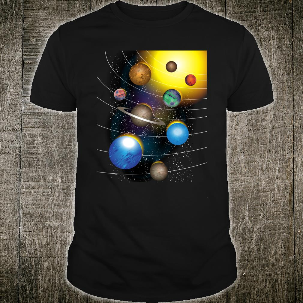 Cool Stars And Solar System Shirt