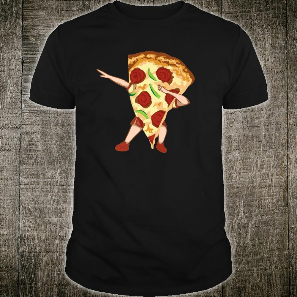 Dabbing Pizza Cool Italian Pizza Lovers Gift Shirt