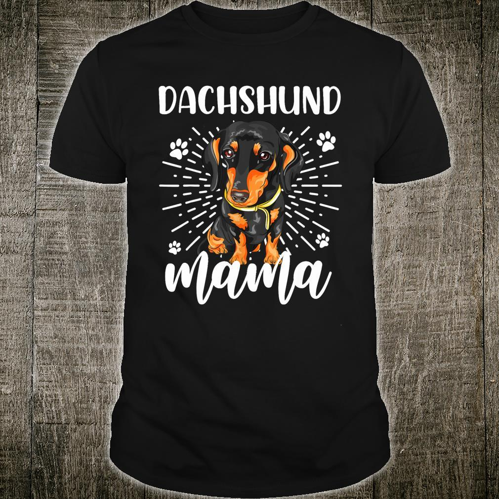 Dachshund Mom Mother's Day Dogs Shirt