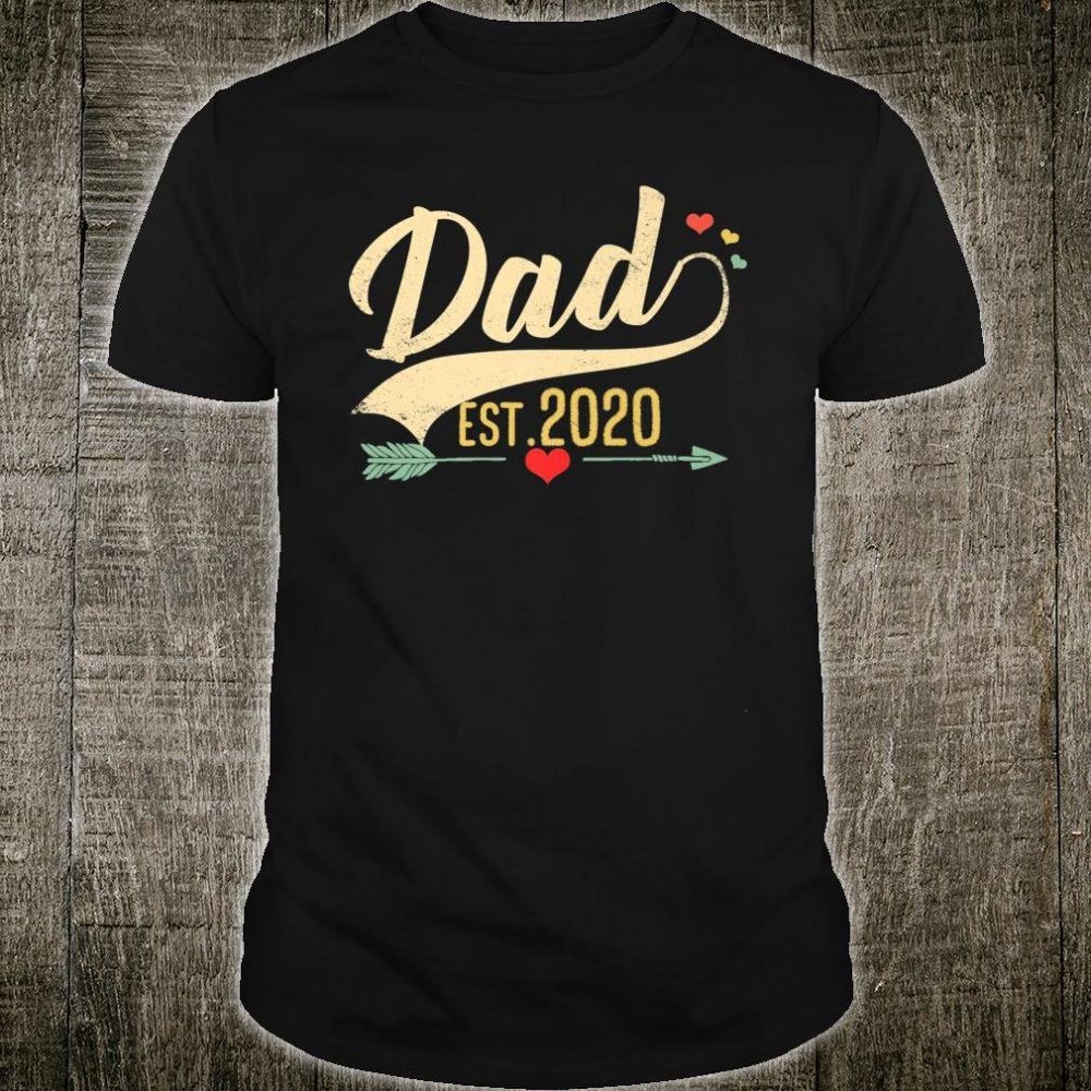 Dad 2020 Proud Daddy Shirt