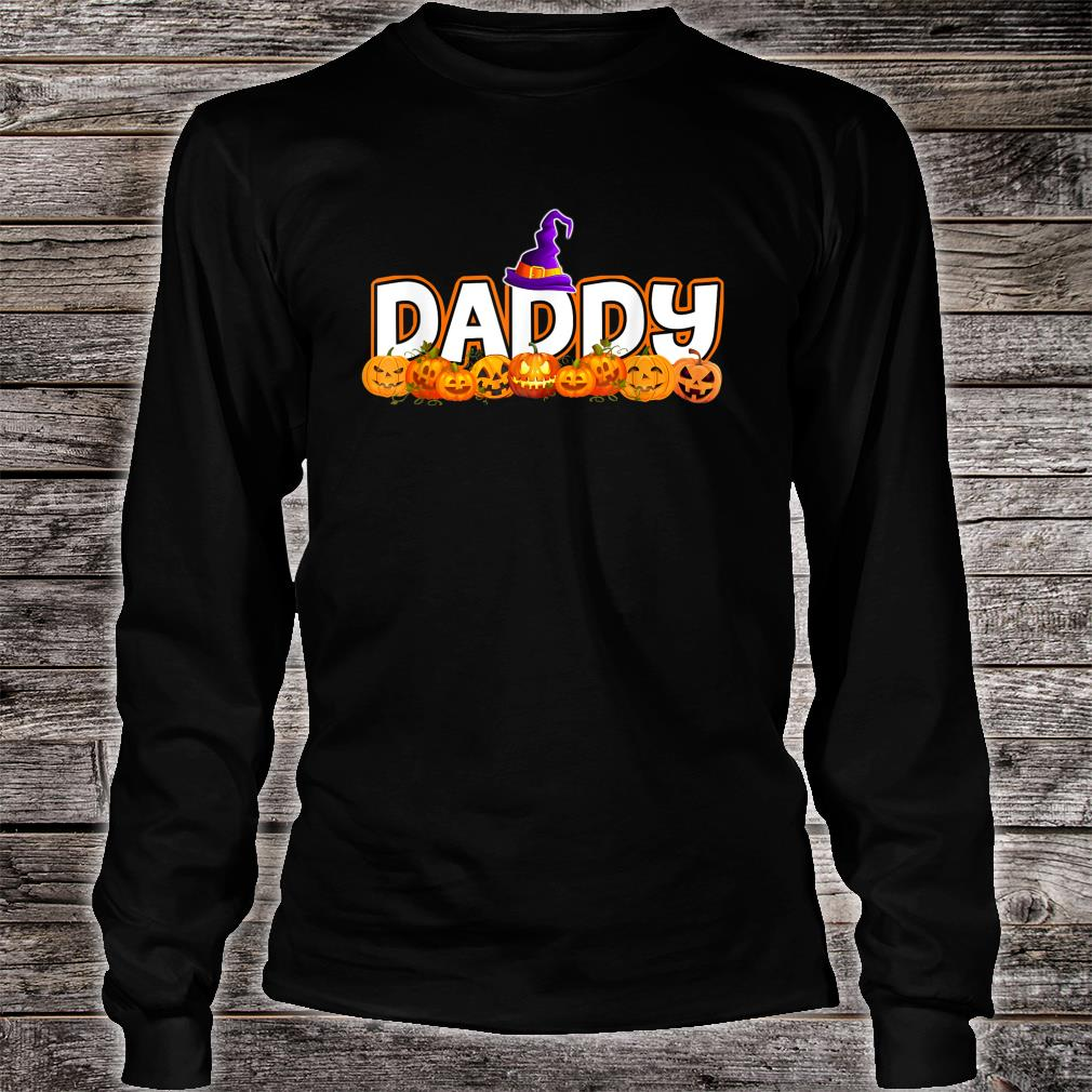Daddy Halloween Witch Costume Shirt long sleeved