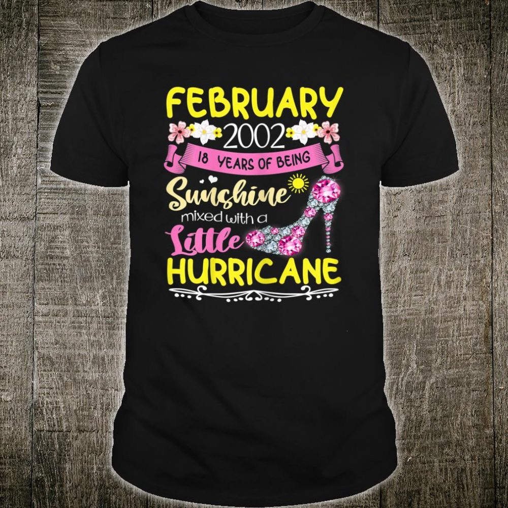 February Girls 2002 Shirt