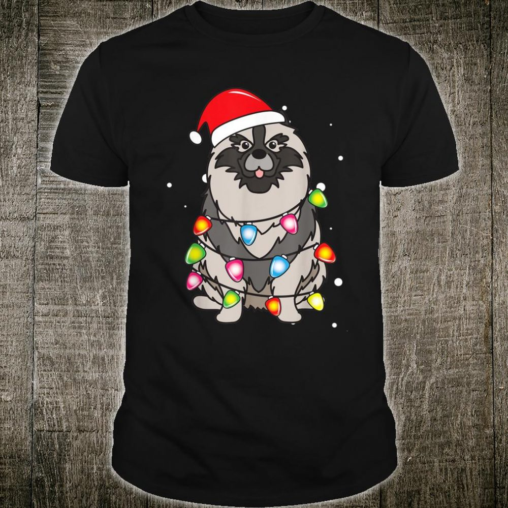 Finnish Lapphund Christmas Mom Dad Dog Shirt