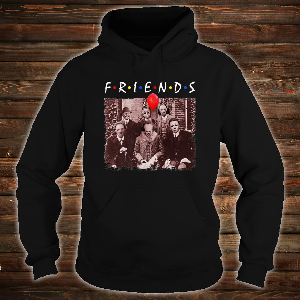 Friends Halloween Horror Team Scary Movies Costume Shirt hoodie