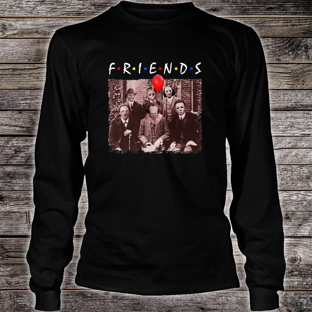 Friends Halloween Horror Team Scary Movies Costume Shirt long sleeved