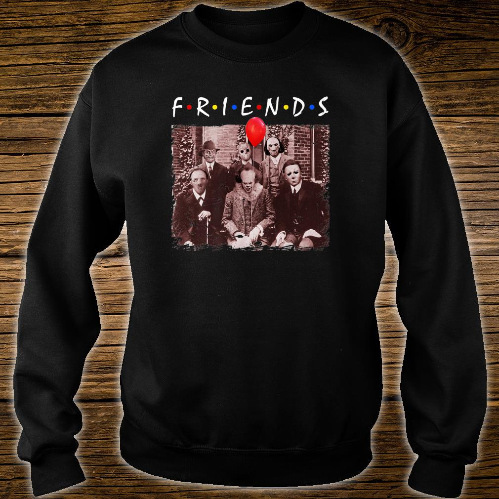 Friends Halloween Horror Team Scary Movies Costume Shirt sweater