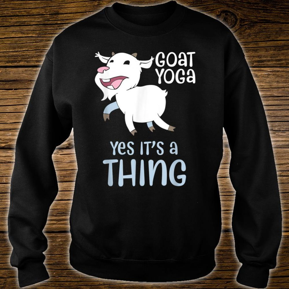 Goat yoga, Healing with Animals a unique yoga experience Shirt sweater