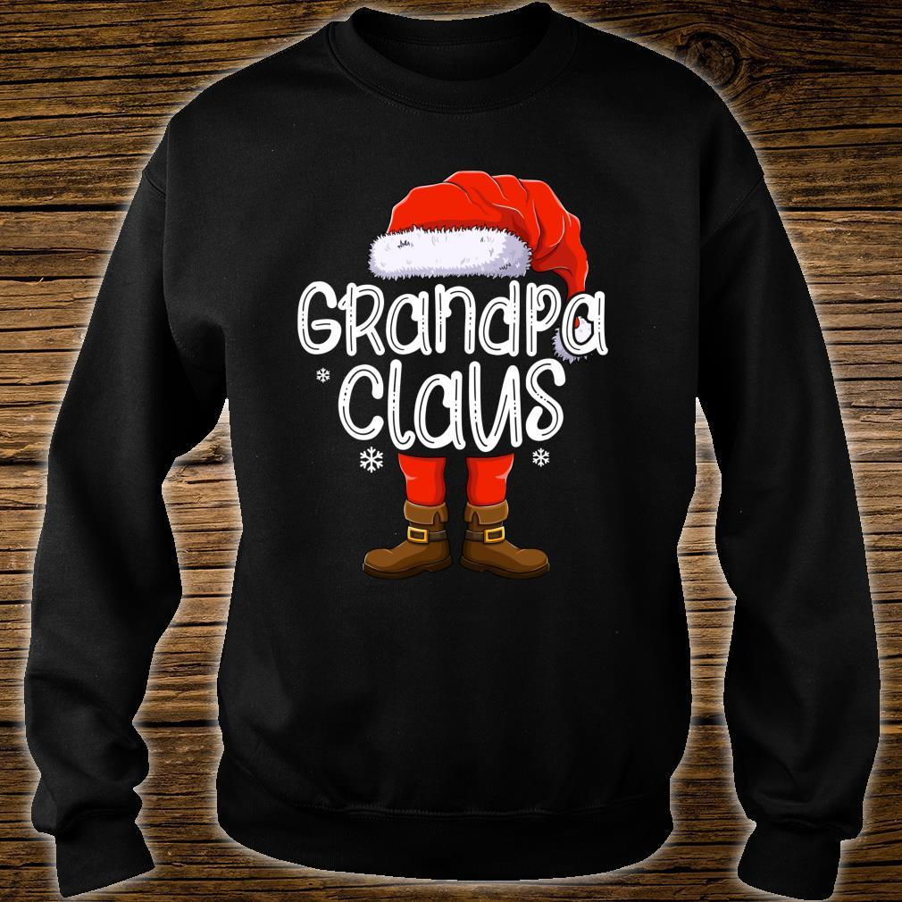 Grandpa Santa Claus Matching Christmas Family Group Xmas Shirt sweater
