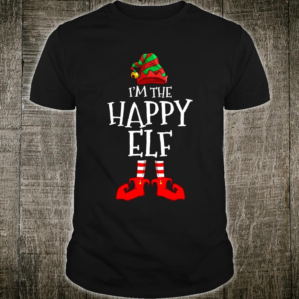 I'm The Happy Elf Matching Family Group Christmas Shirt