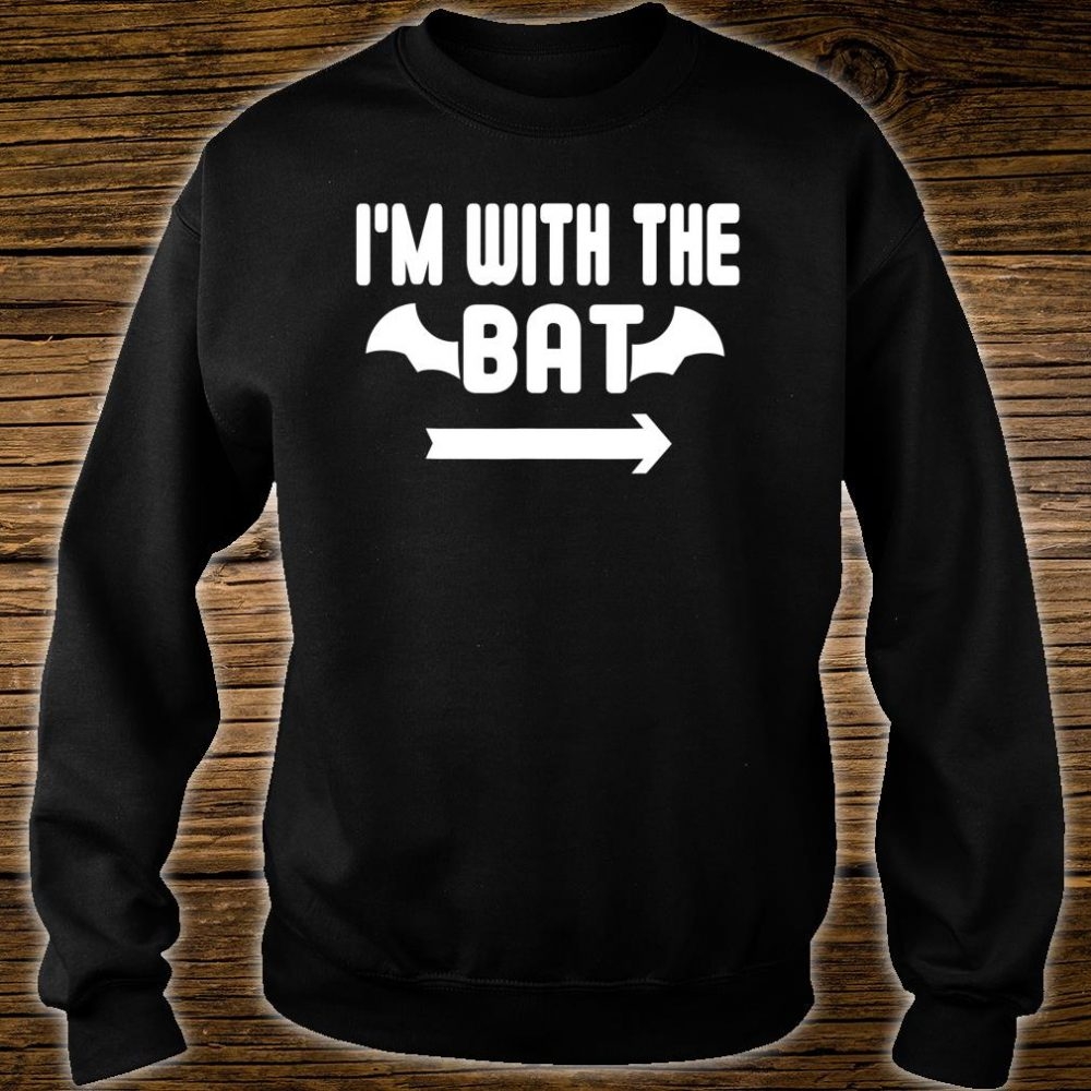 I'm With The Bat Easy Halloween Shirt sweater