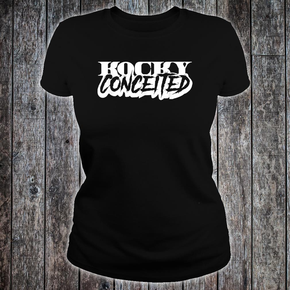 KOCKY CONCEITED-90S LOOK-ORIGINAL LETTERING Shirt ladies tee