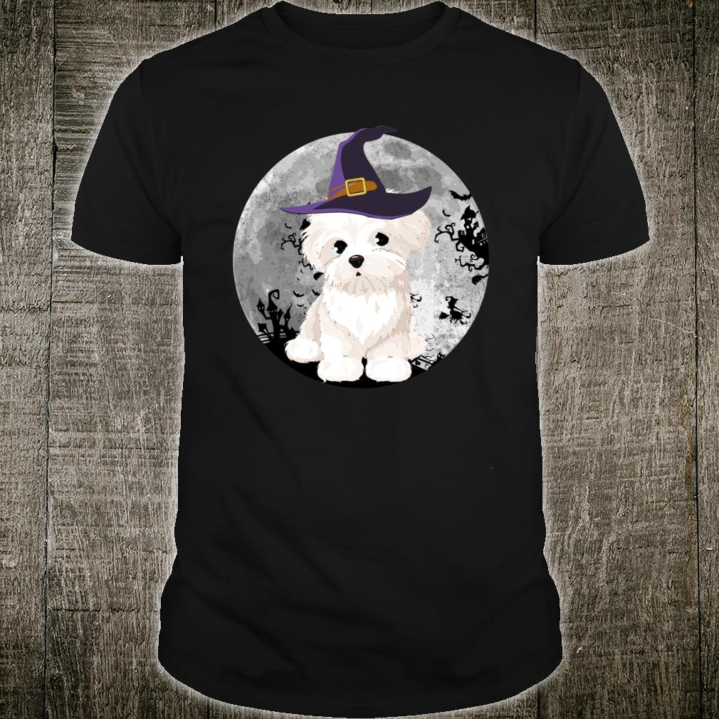Maltese Witch Halloween Shirt