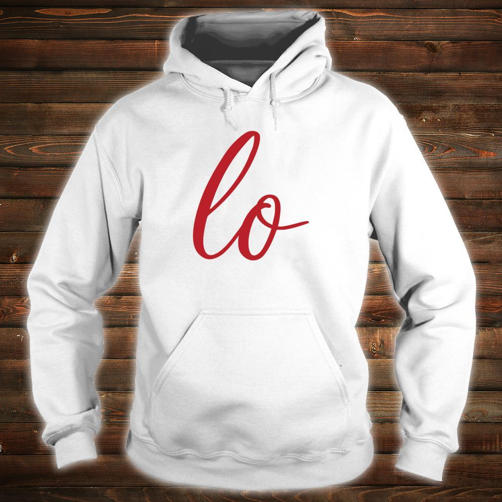Matching Couples Sets Letter Print Love Shirt hoodie