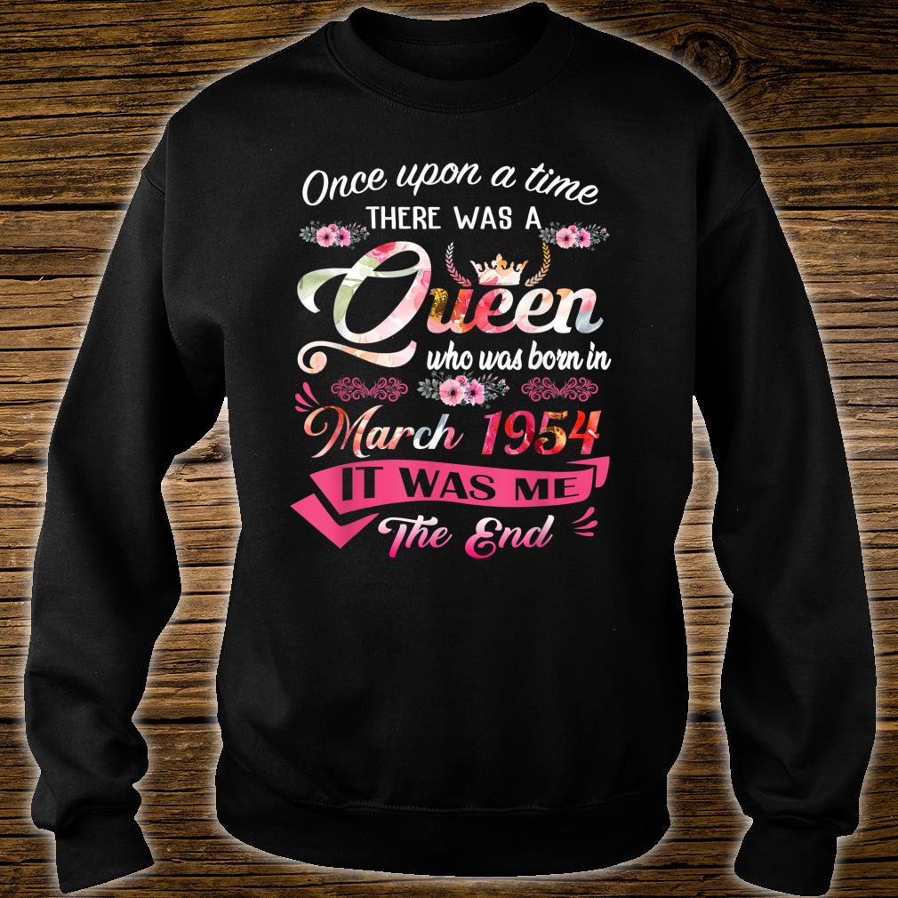 One Upon A Time There Was A Queen March 1954 Shirt sweater