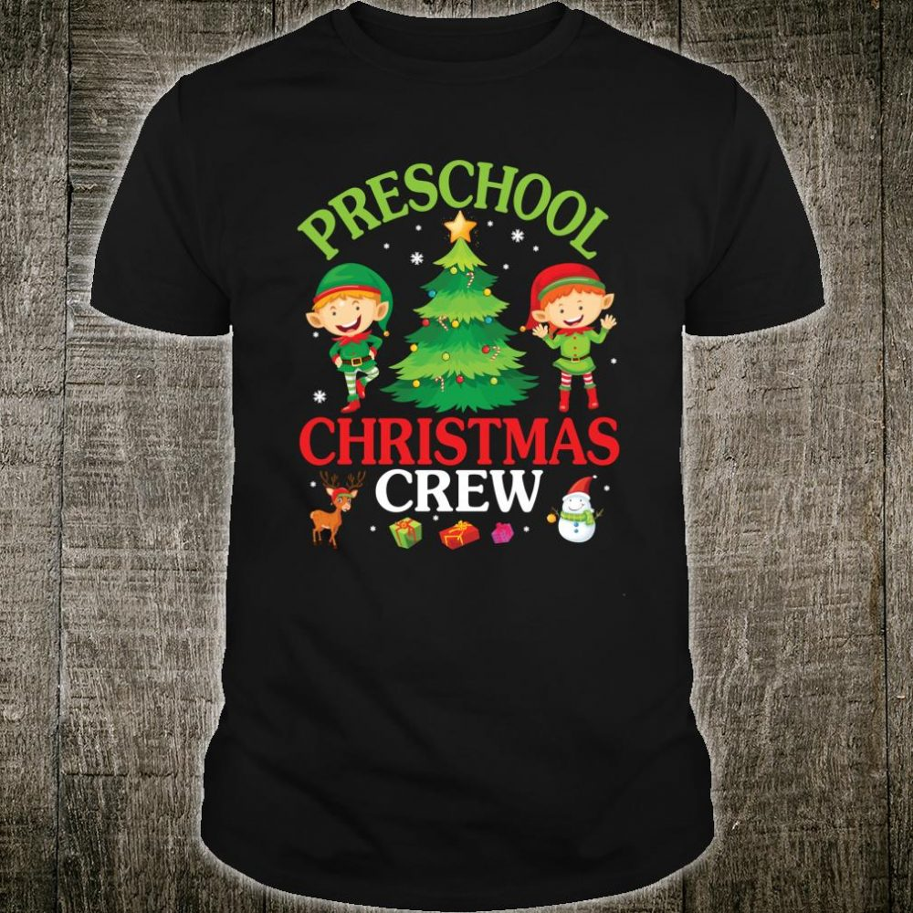 Preschool Christmas Crew Shirt