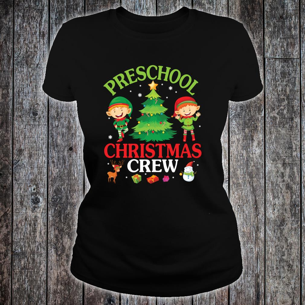 Preschool Christmas Crew Shirt ladies tee