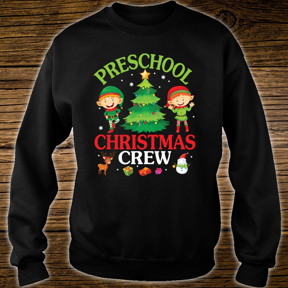 Preschool Christmas Crew Shirt sweater
