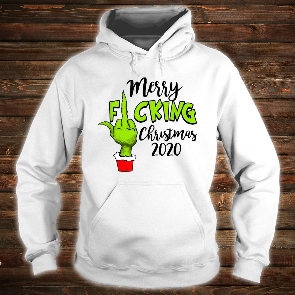 Santa G.rinch Merry F-cking christmas Shirt hoodie