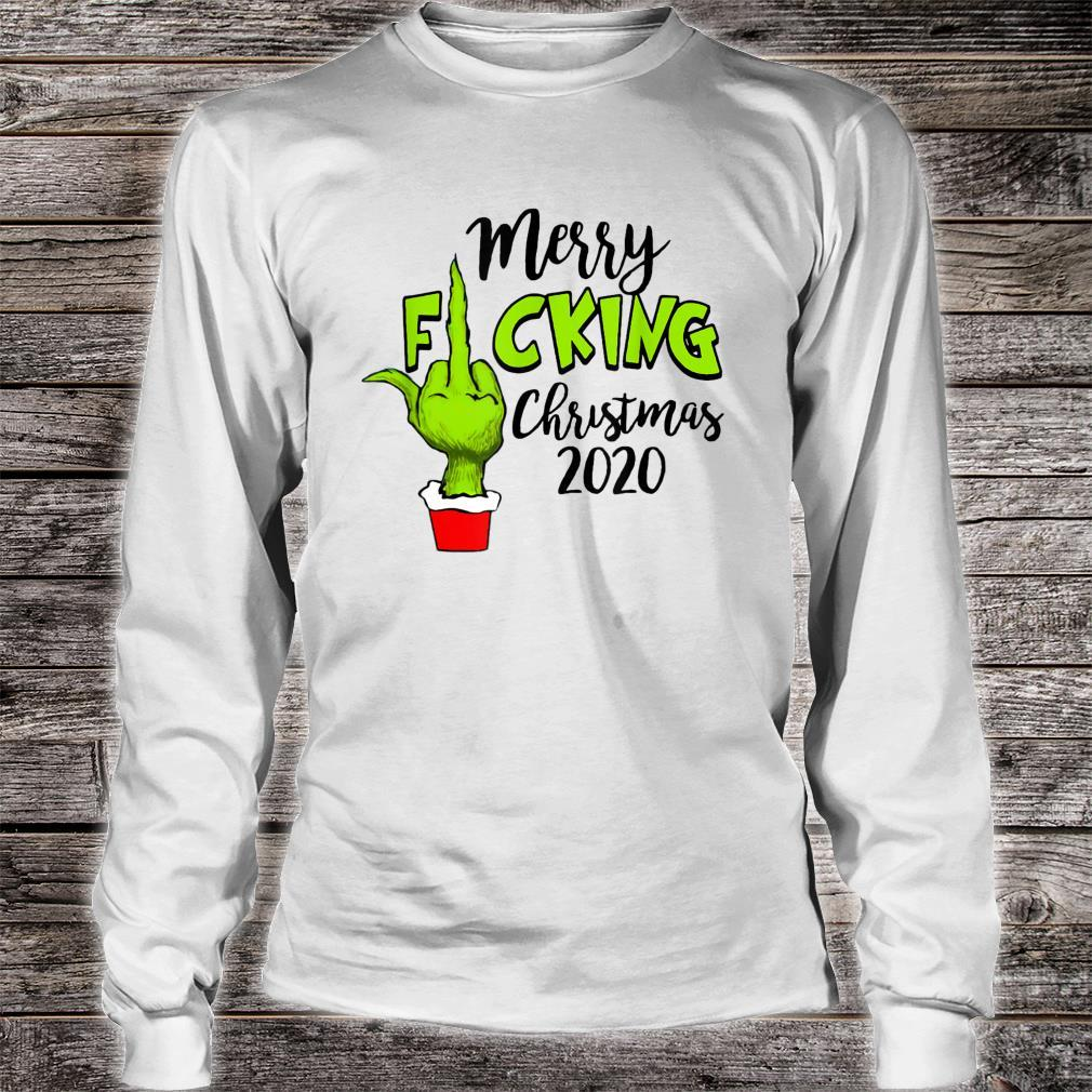 Santa G.rinch Merry F-cking christmas Shirt long sleeved