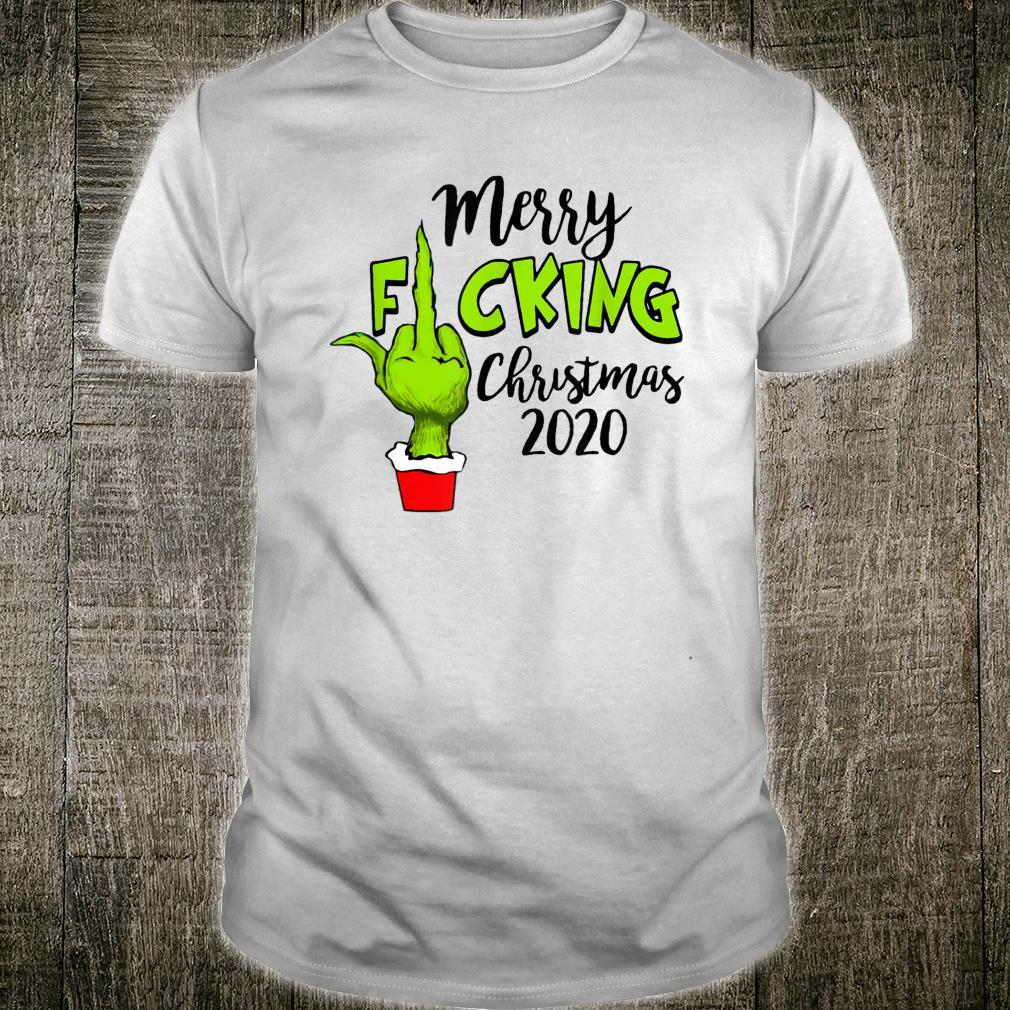 Santa G.rinch Merry F-cking christmas Shirt