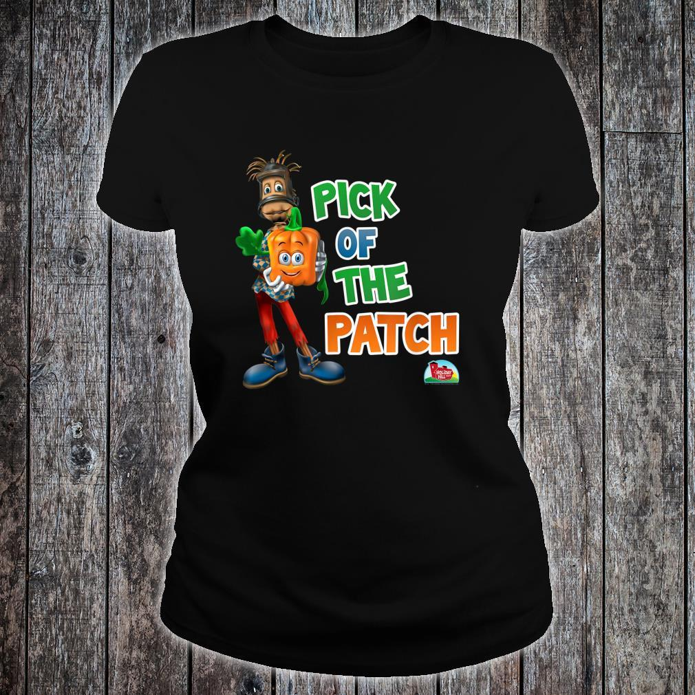 Spookley the Square Pumpkin Pick of the Patch Shirt ladies tee